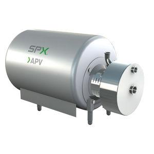 mezcladora de rotor / en línea / líquido-sólido / horizontal