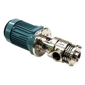mezcladora de rotor y estator / en línea / para líquidos / de productos lácteos