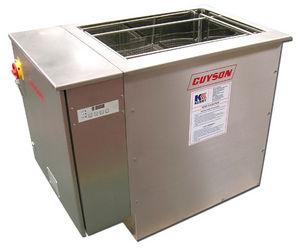máquina de limpieza por ultrasonidos / de agua / manual / industrial