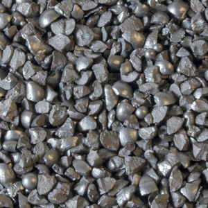 abrasivo de arenado de metal