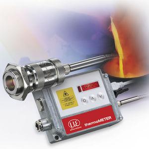 pirómetro con pantalla LCD