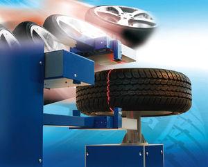 máquina de control óptica / para pneumaticos / de defectos / en línea