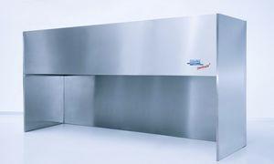 banco de trabajo de acero inoxidable / para sala blanca / compacto
