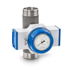 controlador de caudal mecánico / para líquido / de brida / con indicador