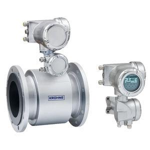caudalímetro electromagnético / para agua / para productos químicos / para aguas residuales