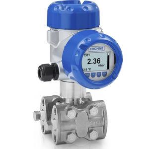 transmisor de presión diferencial / de vacío / de cerámica / piezorresistivo