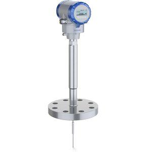 transmisor de nivel radar de ondas guiadas TDR / para líquido / 2 hilos / compacto