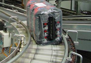 transportador de rodillos motorizados