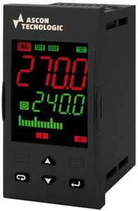 regulador de temperatura digital / doble visualizador led / programable / configurable