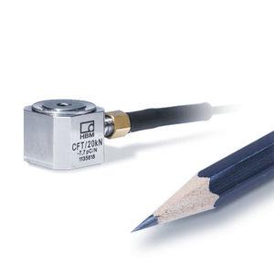 transductor de fuerza de compresión / en miniatura / IP65 / de acero inoxidable