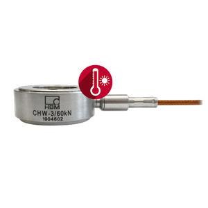 celda de carga de compresión / de anillo / compacta / de acero inoxidable