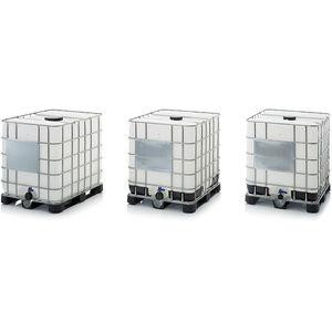 contenedor IBC de PEAD / para líquido / para productos peligrosos / de almacenamiento