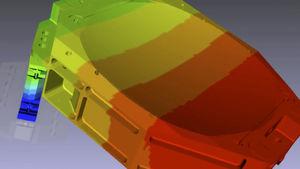 software de análisis de fatiga mecánica por elementos finitos