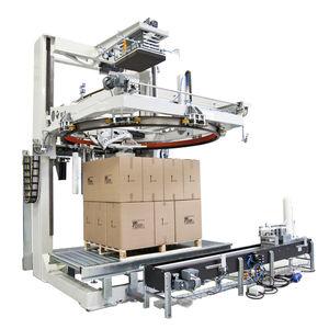 envolvedora con corona rotativa / automática / para palés / de film estirable