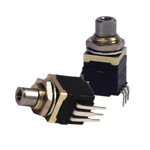 conmutador rotativo / multipolar / de acero inoxidable / electromecánico