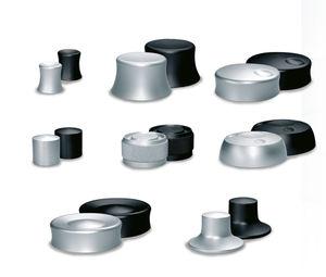 botón pulsador táctil / electromecánico / estándar / de aluminio