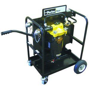 unidad de filtración coalescente / de combustible / móvil / de alta eficacia