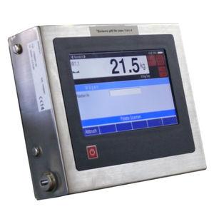 indicador de pesaje con pantalla táctil