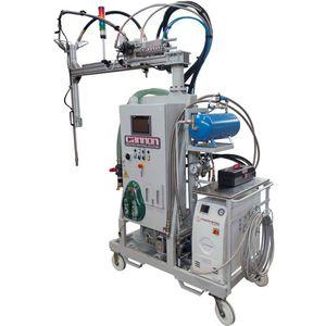 unidad de mezcla y de dosificación de resinas / de alta precisión
