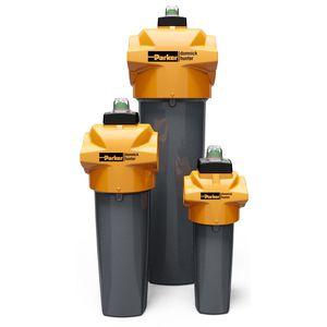 filtro de aire comprimido / de cartucho / de gran eficacia / de proceso