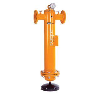 filtro de gas / de cartucho / de alto caudal / de acero al carbono