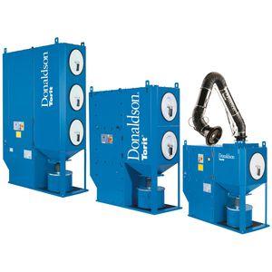 desempolvador de cartucho / limpieza por chorro de aire / compacto / de alto rendimiento