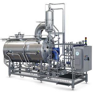 procesador de alimentos industrial / para productos viscosos / de uso múltiple