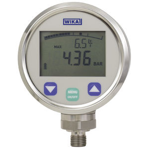 manómetro digital