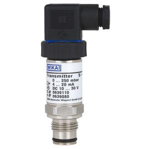 transmisor de presión de membrana / analógico / con membrana aflorante / de acero inoxidable