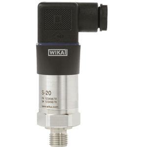 transmisor de presión relativa / de membrana / analógico / roscado