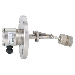 interruptor de nivel de flotador magnético / para líquidos / de acero inoxidable / para montaje lateral