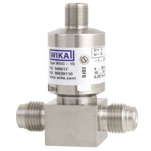 transductor de presión relativa / de capa fina / analógico / roscado