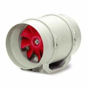 ventilador axial / de circulación de aire / en línea / para conducto tubular