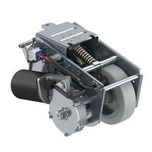 ruedecilla fija / con platino giratorio / motorizada