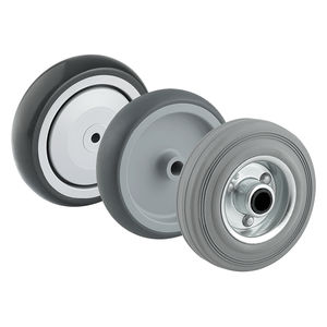rueda con aro / de caucho / antihuellas