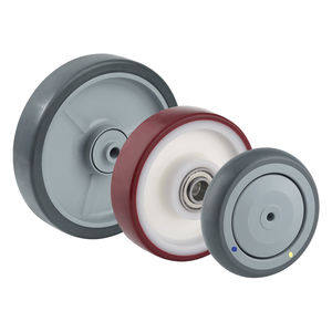 rueda con aro / de poliuretano / inyectada