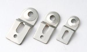 escuadra de fijación / de acero inoxidable / de plástico