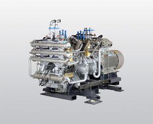 compresor refrigerado por agua / de aire / de nitrógeno / de gas natural