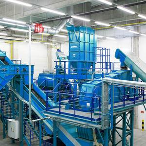 instalación de reciclado de refrigeradores