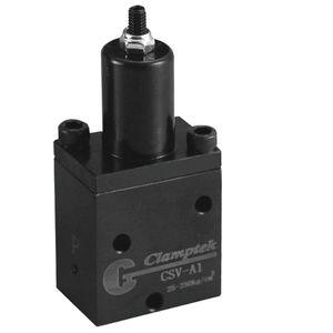 válvula con control hidráulico / para aceite
