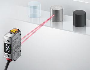 sensor de desplazamiento láser CMOS / lineal / sin contacto / IP68