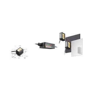 sensor de desplazamiento láser CMOS / lineal / sin contacto / digital