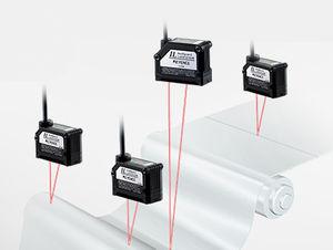 sensor de desplazamiento lineal / sin contacto / láser CMOS / analógico