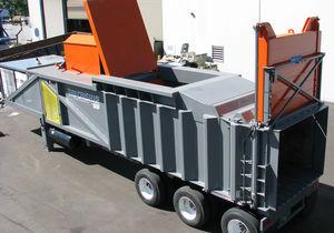 compactador de basura móvil / para chatarra / de carga superior