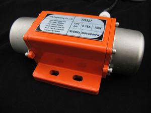motor vibratorio eléctrico / de polvo / para la industria / rotativo