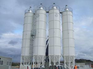 silo de fondo cónico