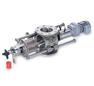 válvula rotativa para plástico