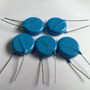 condensador eléctrico de cerámica / radial / DC / de alta tensión
