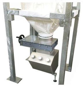 silo con fondo vibratorio / flexible / de granulados