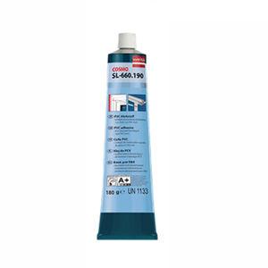 cola de PVC / para espuma / monocomponente / de alta temperatura